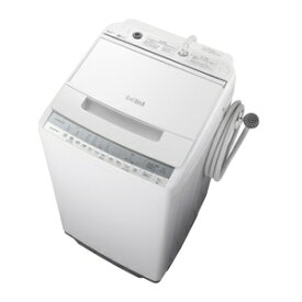 (標準設置料込)洗濯機 一人暮らし 7kg BW-V70F-W 日立 7.0kg 全自動洗濯機 ホワイト HITACHI ビートウォッシュ [BWV70FW]