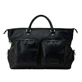 OV1020-02 オノフ ボストンバッグ (ブラック) ONOFF Boston Bag OV1020
