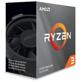 3100 Ryzen3 AMD 【国内正規品】AMD CPU 3100 BOX(Ryzen 3)