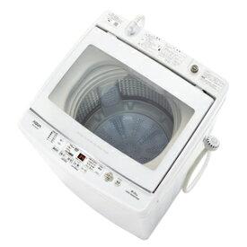 (標準設置料込)洗濯機 8kg アクア AQW-GV80J-W アクア 8.0kg 全自動洗濯機 ホワイト AQUA [AQWGV80JW]