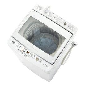 (標準設置料込)洗濯機 一人暮らし 7kg AQW-GV70J-W アクア 7.0kg 全自動洗濯機 ホワイト AQUA [AQWGV70JW]