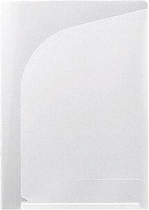 793-10ニユ キングジム クリアーホルダー2ポケット 793-10(A4 タテ型)