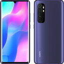 MINOTE10LITE-NP Xiaomi(シャオミ) Mi Note 10 Lite ネビュラパープル [メモリ 6GB / ストレージ 128GB]