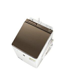 (標準設置料込)ES-PW10E-T シャープ 10.0kg 洗濯乾燥機 ブラウン系 SHARP [ESPW10ET]