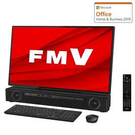 FMVF90E2B 富士通 FMV ESPRIMO FH90/E2 - 27型 フルHD対応TVチューナー搭載 デスクトップパソコン [Core i7 / メモリ 8GB / SSD 256GB+HDD 3TB / BDドライブ / TV機能 / Microsoft Office 2019]
