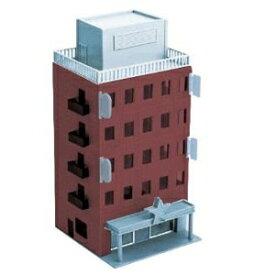 [鉄道模型]グリーンマックス (Nゲージ)2607 着色済み ビジネスビル(ブラウン)基本5階建