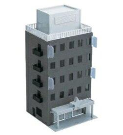 [鉄道模型]グリーンマックス (Nゲージ)2609 着色済み ビジネスビル(ブラックグレー)基本5階建