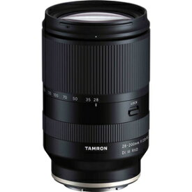 TA28-200DI3ソニ-A071 タムロン 28-200mm F/2.8-5.6 Di III RXD(Model:A071) ※ソニーFEマウント用レンズ(フルサイズミラーレス対応)