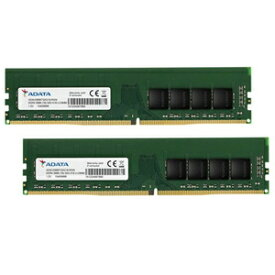 AD4U3200732G22-D ADATA PC4-25600 (DDR4-3200)288pin DIMM 64GB(32GB×2枚)