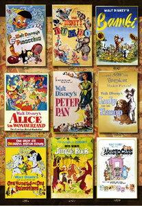 ディズニー Movie Poster Collection Disney Animations 1000ピース テンヨー 【Disneyzone】