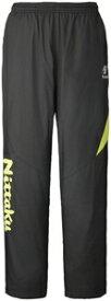NT-NW2849-40-O ニッタク 卓球用ウェア(男女兼用)(グリーン・サイズ:O) Nittaku ライトウォーマーSPR パンツ