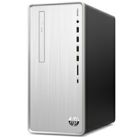 9AQ44AA-AAAB HP(エイチピー) ミニタワー型(縦置き)デスクトップパソコン HP Pavilion Desktop TP01-0144jp ナチュラルシルバー (i7/16GB/256GB+2TB/GTX 1650)