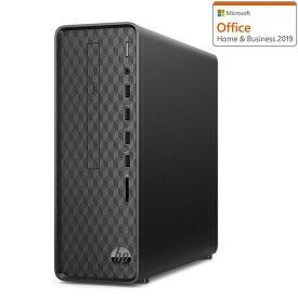 9AQ16AA-AAAB HP(エイチピー) 省スペース型 (縦置き)デスクトップパソコン HP Slim Desktop S01-pF0121jp ジェットブラック (i3/8GB/HDD 1TB)