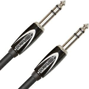 RCC-10-TRTR ローランド ステレオ標準プラグケーブル(ストレート?ストレート、3.0m) Roland Black Series Instrument Cable