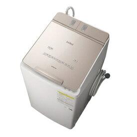 (標準設置料込)洗濯機 9kg 日立 BW-DX90F-N 日立 9.0kg 洗濯乾燥機 シャンパン HITACHI ビートウォッシュ [BWDX90FN]