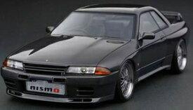 1/18 Nissan Skyline GT-R NISMO (BNR32) Gun Metallic【IG2165】 ignitionモデル