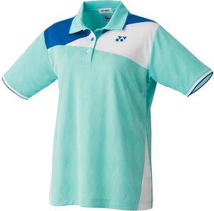 YO-20544-526-XO ヨネックス レディース ゲームシャツ(ミントブルー・サイズ:XO) YONEX