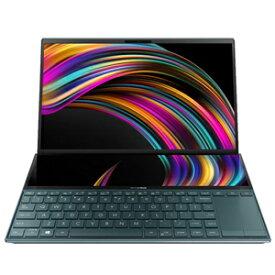 UX481FL-HJ122T ASUS(エイスース) ZenBook Duo UX481 セレスティアルブルー(Core i7モデル) デュアルディスプレイ(14型+12.6型)搭載ノートパソコン