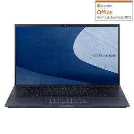 B9450FA-BM0323TS ASUS(エイスース) ASUS Expertbook B9(i7/16GB/1TB/Officeあり)超軽量モデル - 14型スリムノートパソコン