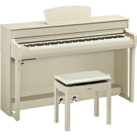 CLP-735WA ヤマハ 電子ピアノ(ホワイトアッシュ調)【高低自在椅子&ヘッドホン&ソングブック付き】 YAMAHA Clavinova(クラビノーバ)