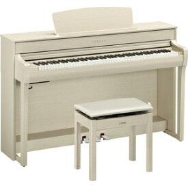 CLP-745WA ヤマハ 電子ピアノ(ホワイトアッシュ調)【高低自在椅子&ヘッドホン&ソングブック付き】 YAMAHA Clavinova(クラビノーバ)