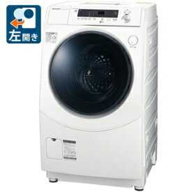 (標準設置料込)ドラム式洗濯機 シャ−プ ES-H10E-WL シャープ 10.0kg ドラム式洗濯乾燥機【左開き】ホワイト SHARP [ESH10EWL]