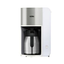 ECK-1000-WH サーモス コーヒーメーカー ホワイト THERMOS 真空断熱ポットコーヒーメーカー [ECK1000WH]