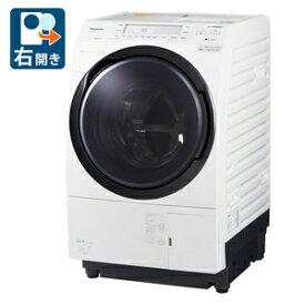 (標準設置料込)NA-VX700BR-W パナソニック 10.0kg ドラム式洗濯乾燥機【右開き】クリスタルホワイト Panasonic VXシリーズ [NAVX700BRW]