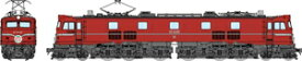 [鉄道模型]トラムウェイ (HO) TW-EF58-10 国鉄EF5860 一般使用時 黒Hゴム