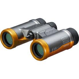 UD-9X21-グレ-オレンジ ペンタックス 双眼鏡「PENTAX UD 9x21」(倍率9倍)(グレーオレンジ)
