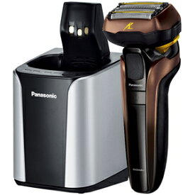 ES-CLV7F-T パナソニック メンズシェーバー【5枚刃】【自動洗浄器付】(茶) Panasonic LAMDASH(ラムダッシュ) ES-LV7F の限定モデル [ESCLV7FT]