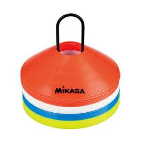 CO40-MINI ミカサ マーカーコーン 40枚セット(オレンジ/ホワイト/イエロー/ブルー) MIKASA
