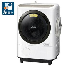 (標準設置料込)ドラム式洗濯機 日立 BD-NV120FL-W 日立 12.0kg ドラム式洗濯乾燥機【左開き】ホワイト HITACHI [BDNV120FLW]