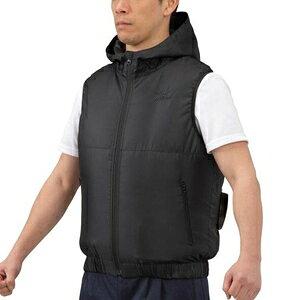 C2JE010209M ミズノ エアリージャケット ベスト(M・ブラック) mizuno 空調服 熱中症対策 メンズ