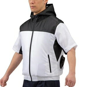C2JE010109L ミズノ エアリージャケット 半袖(L・ブラック) mizuno 空調服 熱中症対策 メンズ
