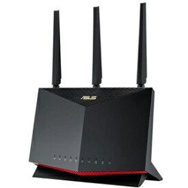 RT-AX86U エイスース 11ax(Wi-Fi 6)対応 デュアルバンド無線LANルーター 親機 (4804Mbps+861Mbps)