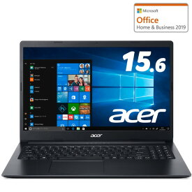 A315-34-A14UJ/F Acer(エイサー) 15.6型ノートパソコン Aspire 3 シェールブラック【ジョーシンオリジナル】 (Celeron/4GB/256GB)
