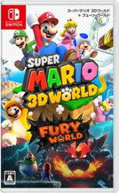 【Switch】スーパーマリオ 3Dワールド + フューリーワールド 任天堂 [HAC-P-AUZPA NSW スーパーマリオ 3D フューリーワールド]