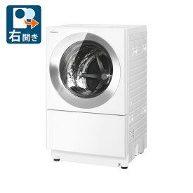 (標準設置料込)NA-VG1500R-S パナソニック 10.0kg ドラム式洗濯乾燥機【右開き】フロストステンレス Panasonic Cuble [NAVG1500RS]