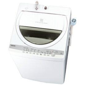 (標準設置料込)洗濯機 一人暮らし 6kg AW-6G9-W 東芝 6.0kg 全自動洗濯機 グランホワイト TOSHIBA [AW6G9W]