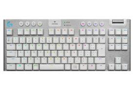 G913-TKL-TCWH ロジクール テンキーレス LIGHTSPEEDワイヤレス RGBメカニカル ゲーミングキーボード (タクタイル) Logicool G913 TKL LIGHTSPEED Wireless RGB Mechanical Gaming Keyboard-Tactile