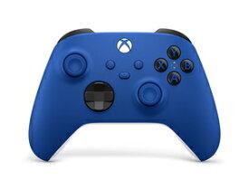 Xbox ワイヤレス コントローラー (ショック ブルー) マイクロソフト [QAU-00005 Xboxコントローラー ショックブルー]