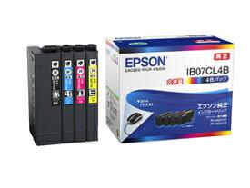 IB07CL4B エプソン 純正 インクカートリッジ 大容量インク(4色パック) EPSON マウス