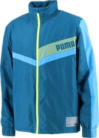 PAJ-519801-02-S プーマ トレーニング ウラトリコット ウーブン ジャケット(DIGI-BLUE-NR・サイズ:S) PUMA