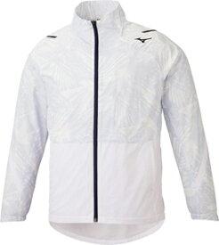 32ME054102S ミズノ メンズ ブレスサーモウォーマージャケット(ホワイト・サイズ:S) mizuno