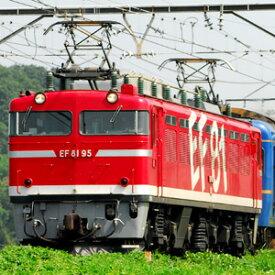 [鉄道模型]カトー (HO) 1-322 EF81 95 レインボー塗装機
