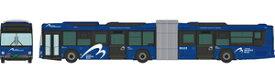 [鉄道模型]トミーテック (N) ザ・バスコレクション 横浜市交通局 YOKOHAMA BAYSIDE BLUE連節バス