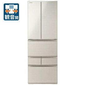 (標準設置料込)冷蔵庫 東芝 大型 GR-S510FK-EC 東芝 509L 6ドア冷蔵庫(サテンゴールド) TOSHIBA VEGETA FKシリーズ [GRS510FKEC]