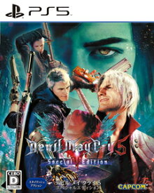 【PS5】Devil May Cry 5 Special Edition カプコン [ELJM-30002 PS5 デビルメイクライ5]