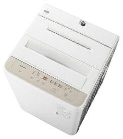 (標準設置料込)洗濯機 一人暮らし 6kg NA-F60B14-C パナソニック 6.0kg 全自動洗濯機 ニュアンスベージュ Panasonic [NAF60B14C]